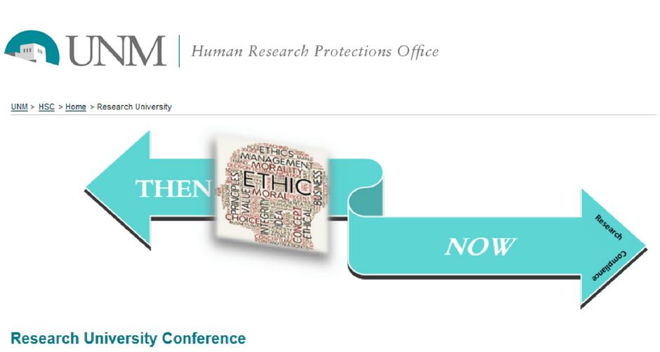 HRPO Research University Website